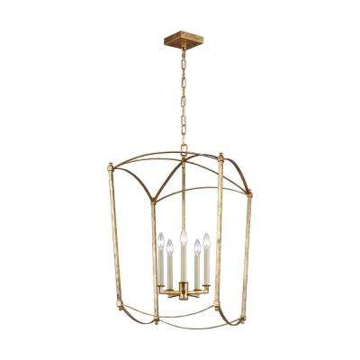 Thayer 5-Light Antique Guild Chandelier