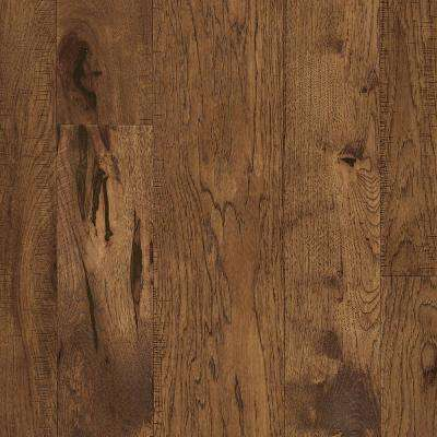 Revolutionary Rustics Hickory Golden Brown 1/2 in. T x Varying W x Varying L Engineered Hardwood Flooring (37.9 sq.ft.)