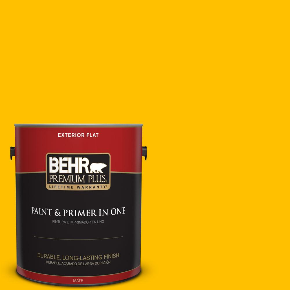 1-gal. #360B-7 Center Stage Flat Exterior Paint