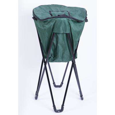 Folding Camping Outdoor Cooler Bag in Green