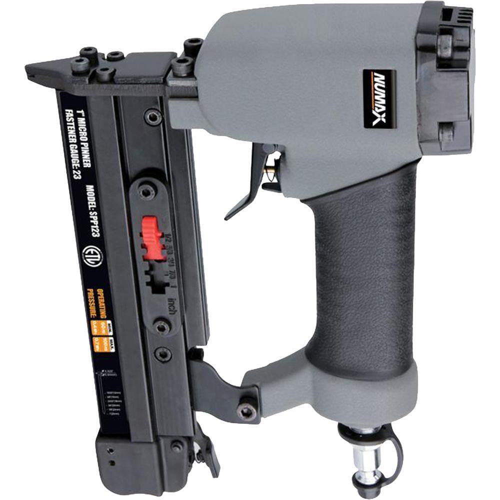 NuMax Pneumatic 23-Gauge 1 in. Micro Pin Nailer