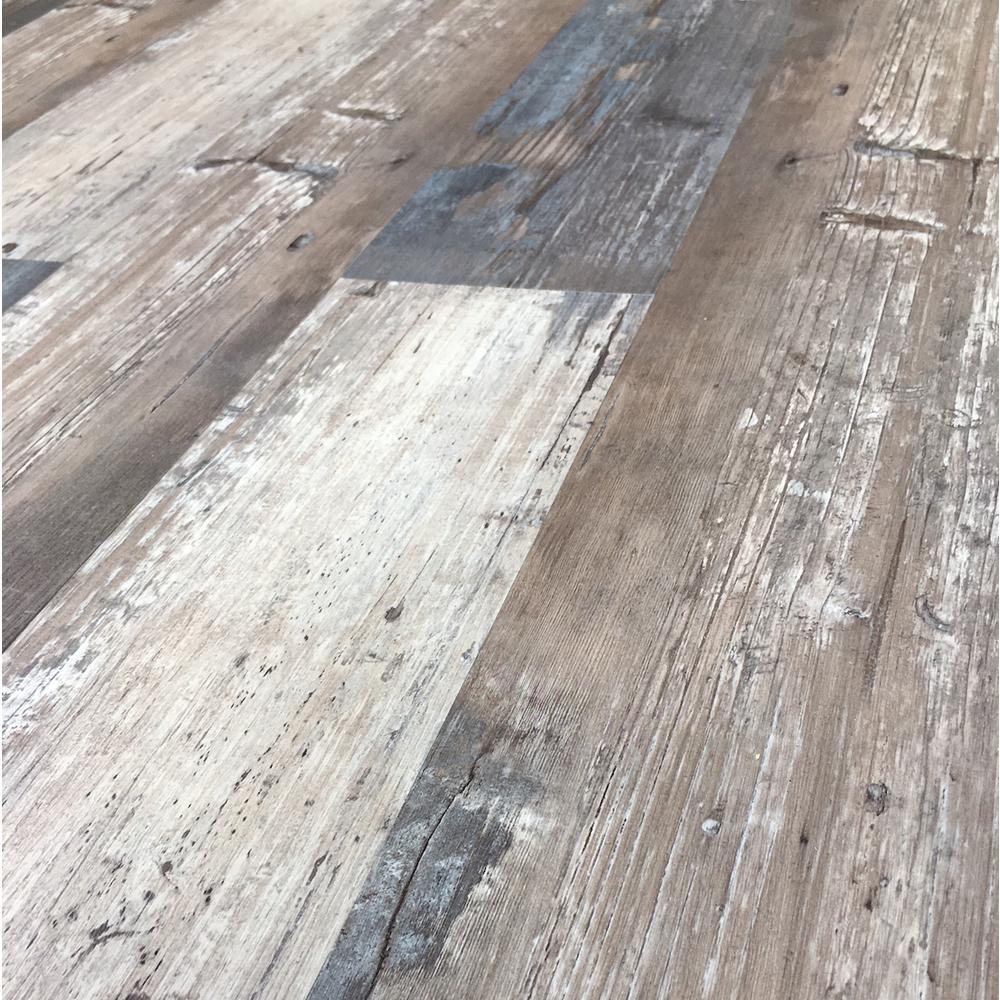 Colors Floor and Wall Rumba Wood Style 6 in. x 36 in. Multi-Tonal Glue Down Luxury Vinyl (2400 sq.ft./80 cases/pallet)