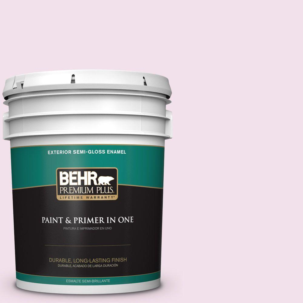 5-gal. #100A-2 Be Mine Semi-Gloss Enamel Exterior Paint