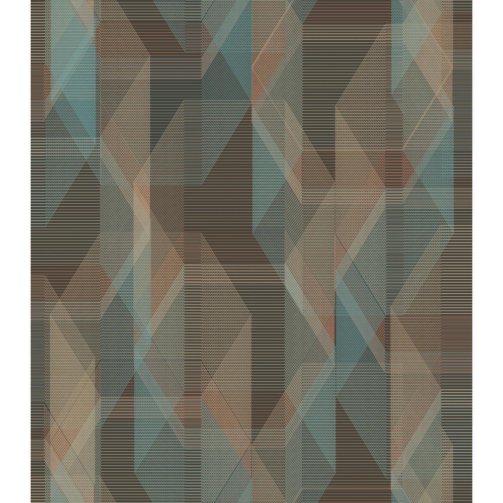 RoomMates 28.29 sq. ft. Debonair Geometric Peel and Stick Wallpaper RMK11348RL