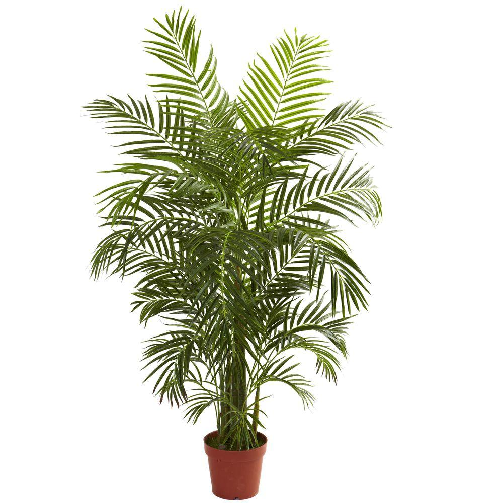 Nearly Natural 4.5 ft. UV Resistant Indoor/Outdoor Areca ...