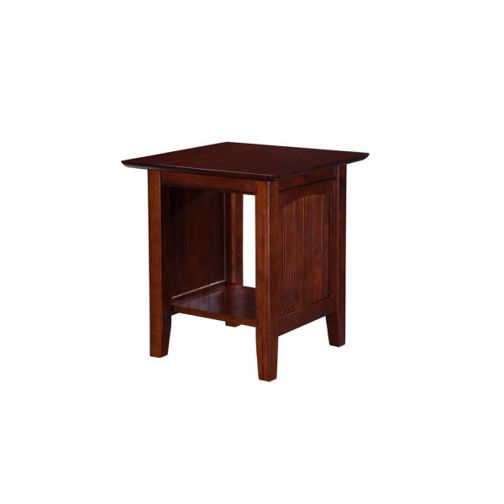 Atlantic Furniture Nantucket Walnut End Table AH14304