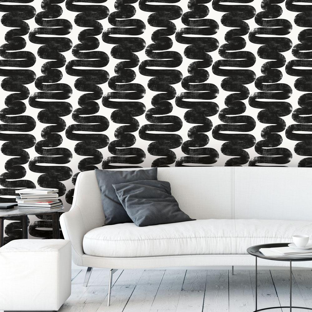 Bobby Berk Wiggle Room Self-Adhesive, Removable Wallpaper