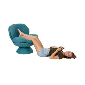 Cool Comfort Chair Rio Turquoise Blue Fabric Leisure Chair Lamtechconsult Wood Chair Design Ideas Lamtechconsultcom
