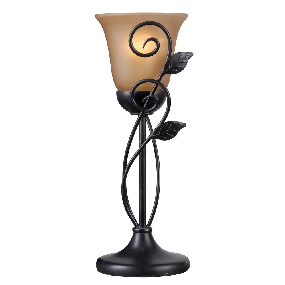 Great Kenroy Home Arbor 16.25 In. 1 Light Bronze Table Torchiere Lamp