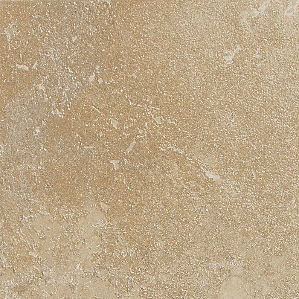 Sandalo Acacia Beige 6 in. x 6 in. Glazed Ceramic Wall
