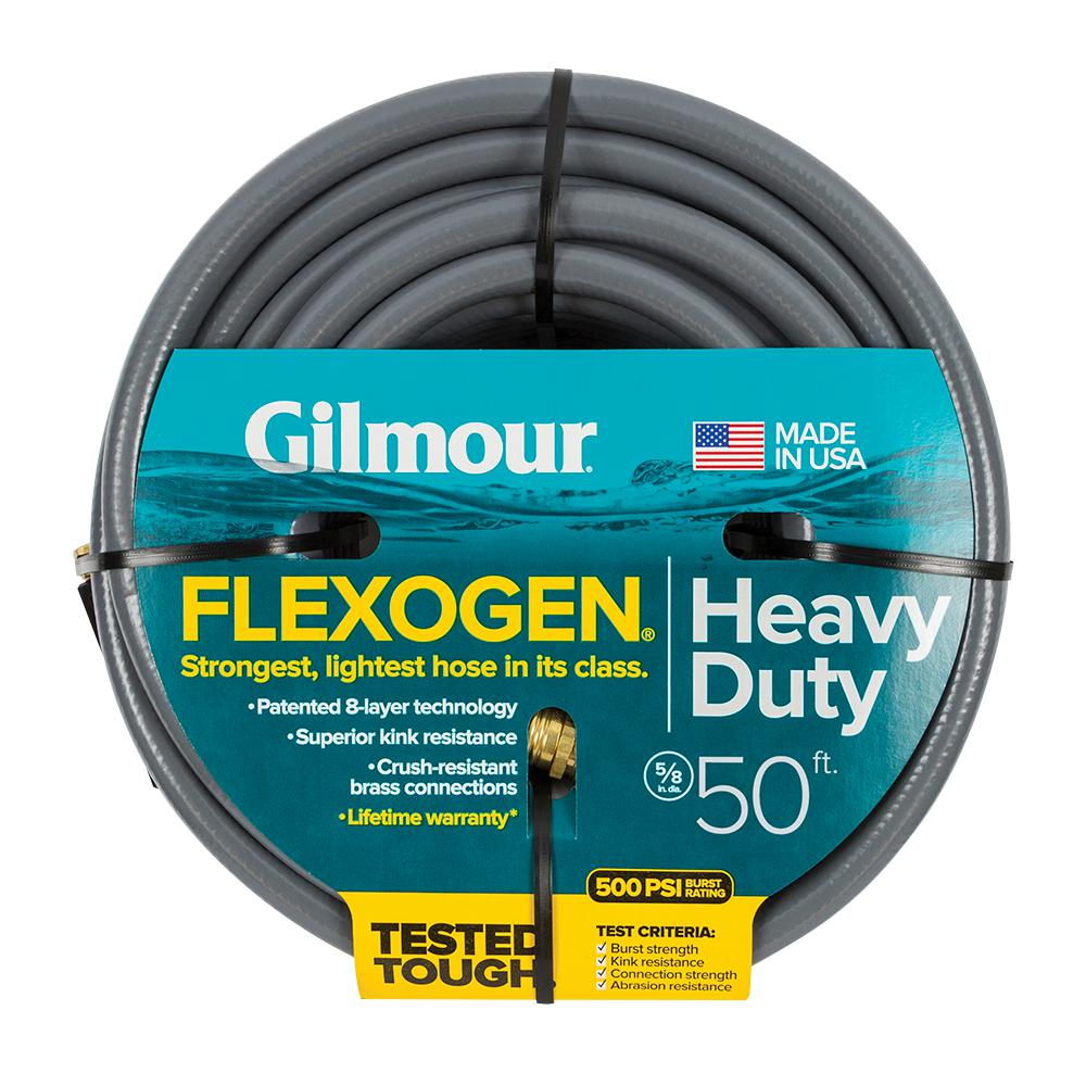 Gilmour 5/8 In. Dia X 50 Ft. 8 Ply Water Hose