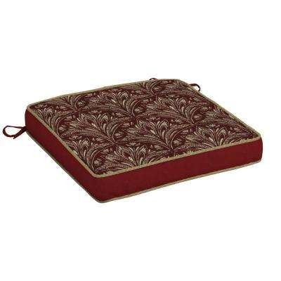 Royal Zanzibar Berry Snap Dry Outdoor Seat Cushion
