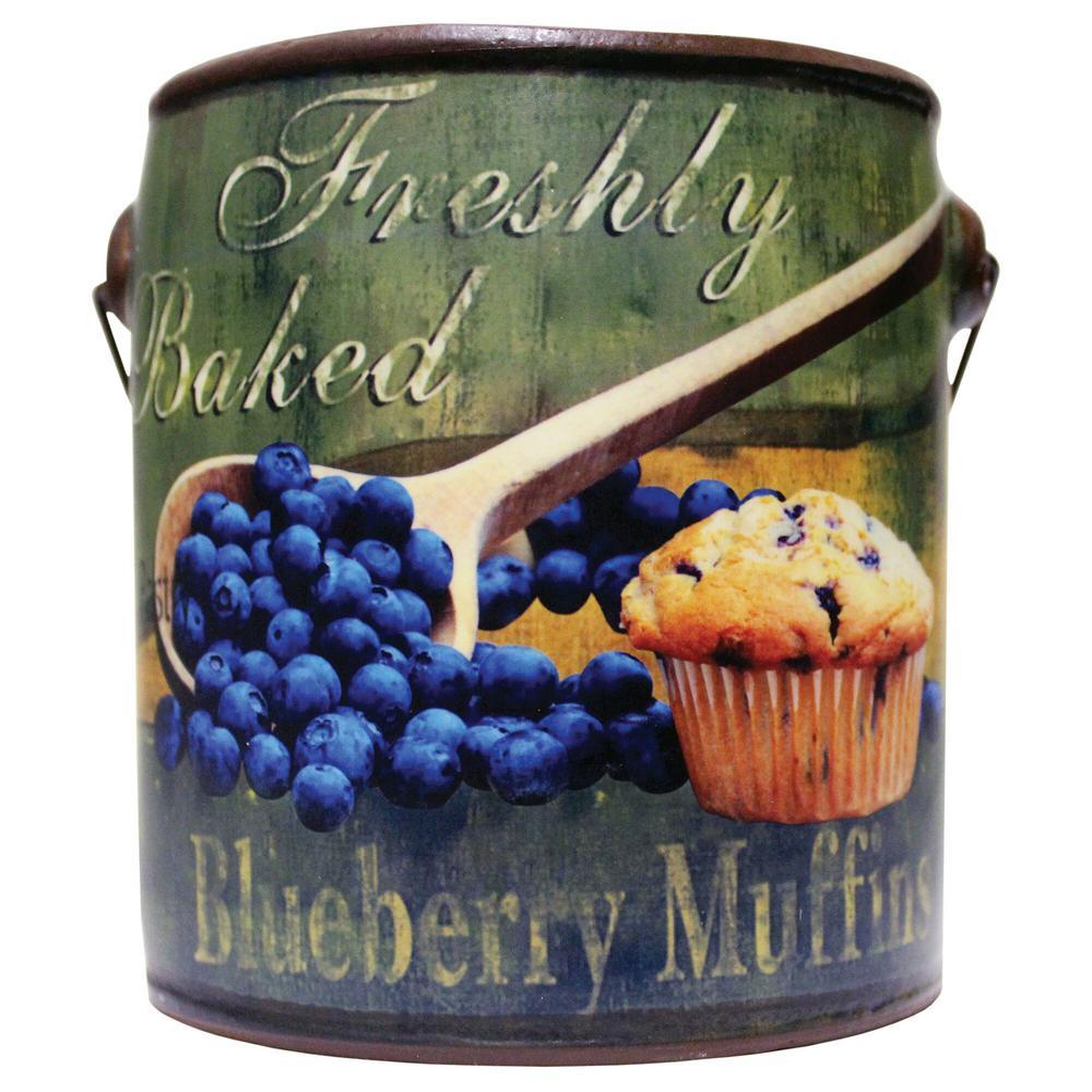 Farm Fresh Ceramic Candle Blueberry Muffins