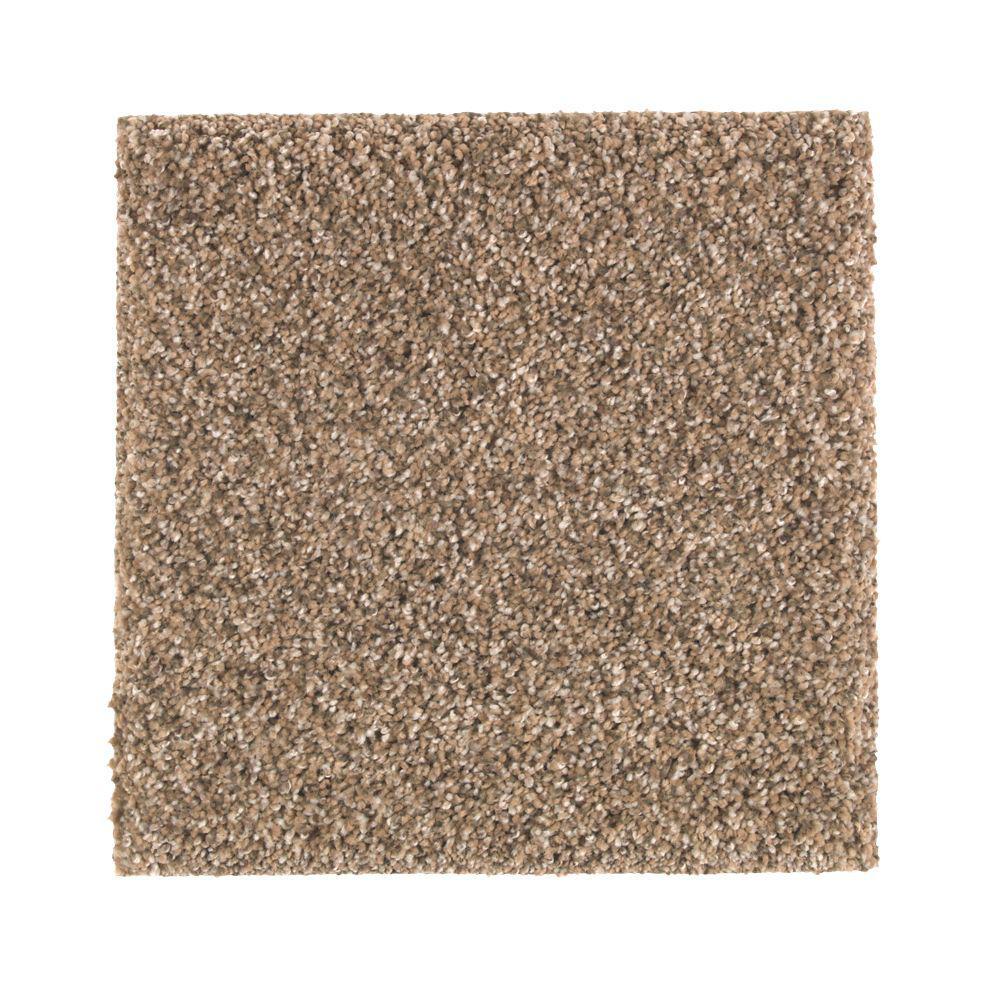 Carpet Sample - Maisie II - Color Bermuda Sand Texture 8 in. x 8 in.