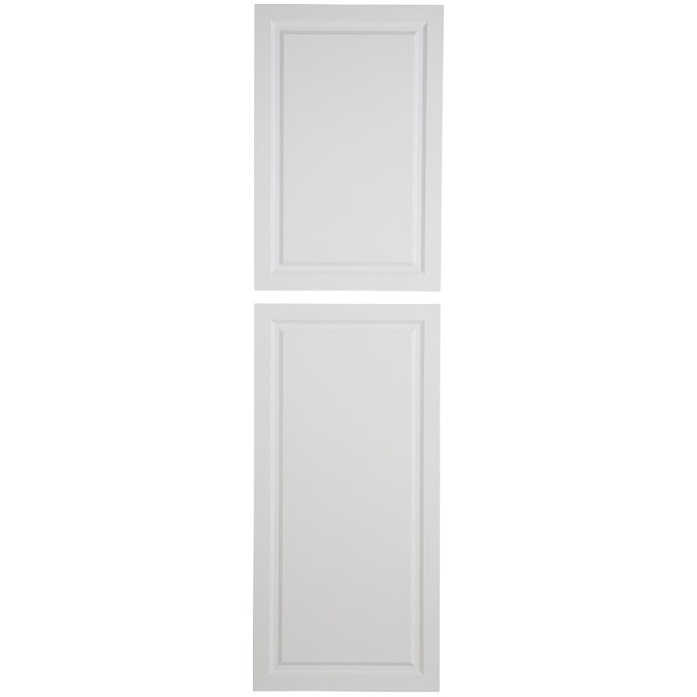23.86x85.71x0.63 in. Decorative Pantry End Panel in White