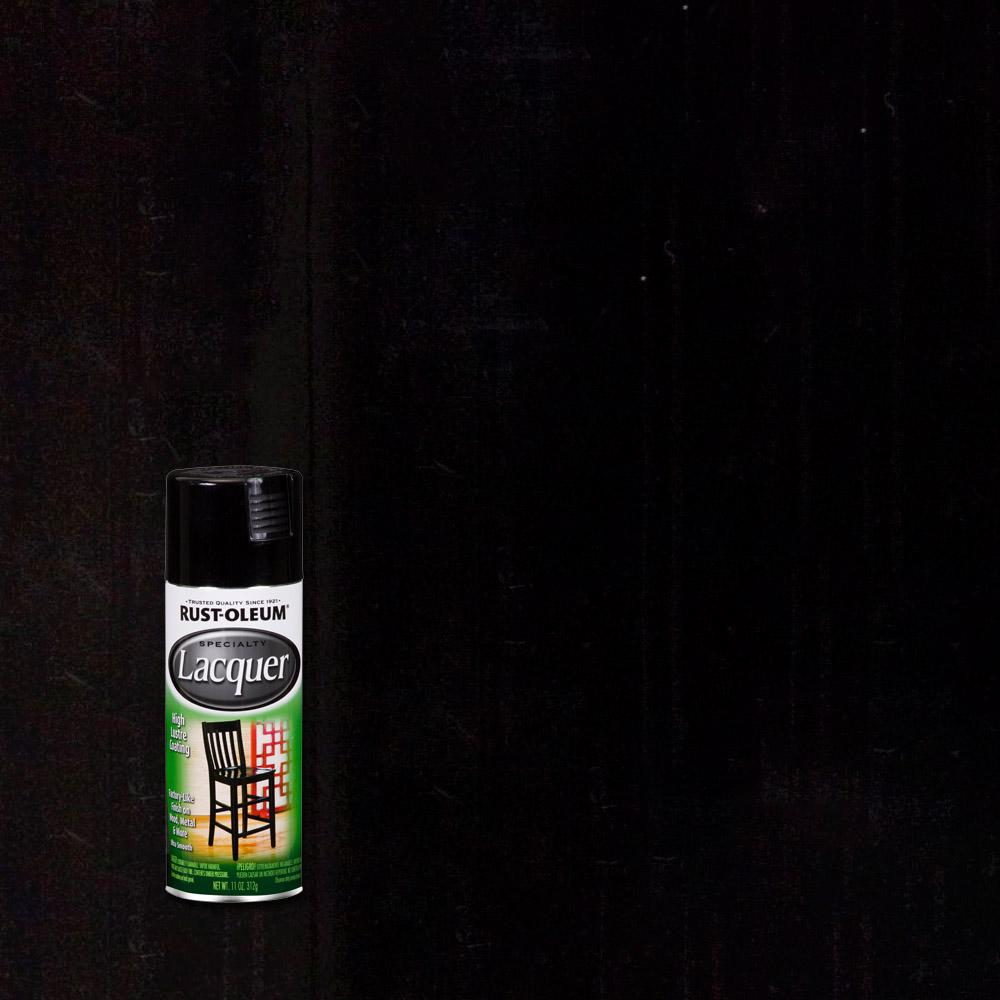 Rust-Oleum Specialty 11 oz. Gloss Black Lacquer Spray Paint