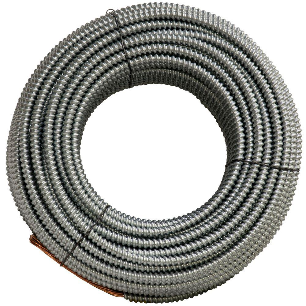 AFC Cable Systems 4/1 x 25 ft. Bare Armored Ground Cable-1303-22-AFC ...
