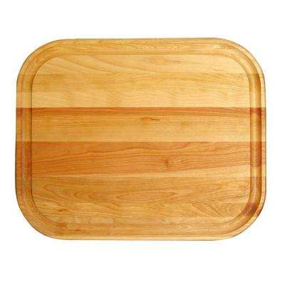 Wooden Reversible Cutting Board