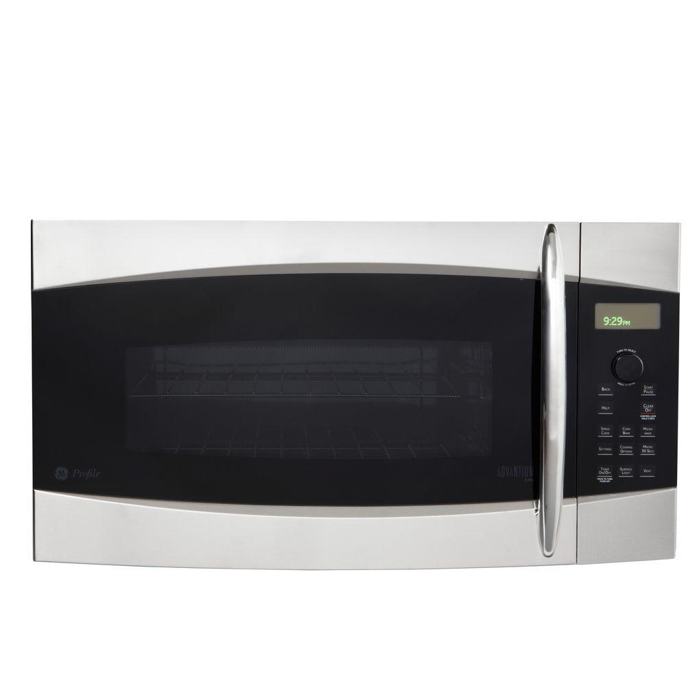 GE Profile Advantium 120 1.7 cu. ft. Over-the-Range Microwave in Stainless Steel-DISCONTINUED