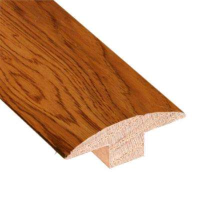 Hickory Golden Rustic 3/4 in. Thick x 2 in. Wide x 78 in. Length Hardwood T-Molding