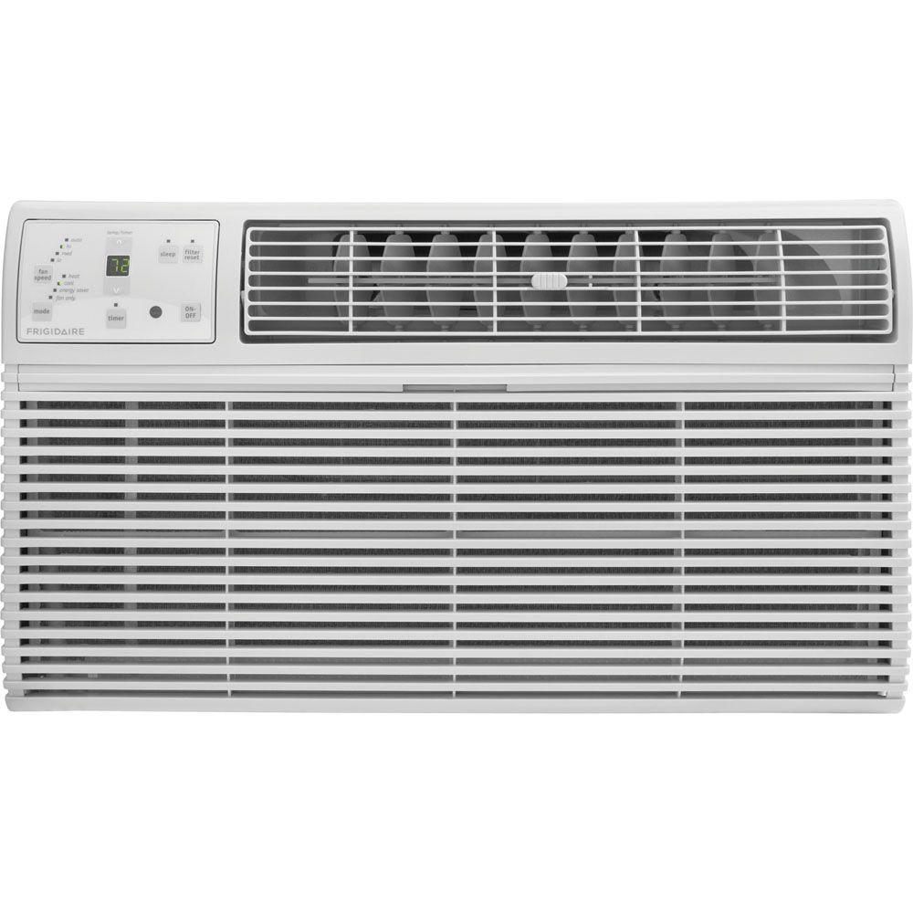 Frigidaire 14,000 BTU 230-Volt Through-the-Wall Air Conditioner with Heat and Remote