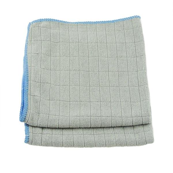 12 in. x 12 in. Micro Fiber Glass and Mirror Cloths (2/Pack)