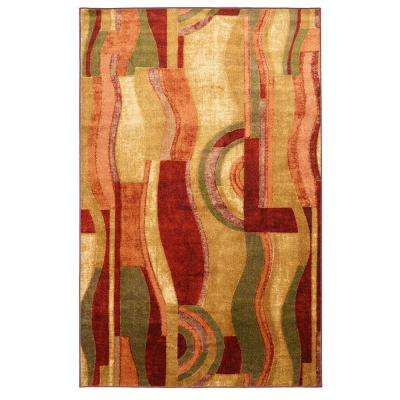 Picasso Wine 7 ft. 6 in. x 10 ft. Area Rug
