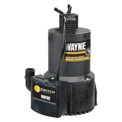 EEAUP250 1/4 HP Submersible Utility Pump