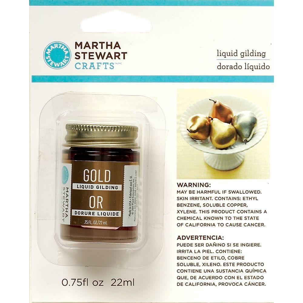Martha Stewart Crafts 0.75-oz. Gold Liquid Gilding