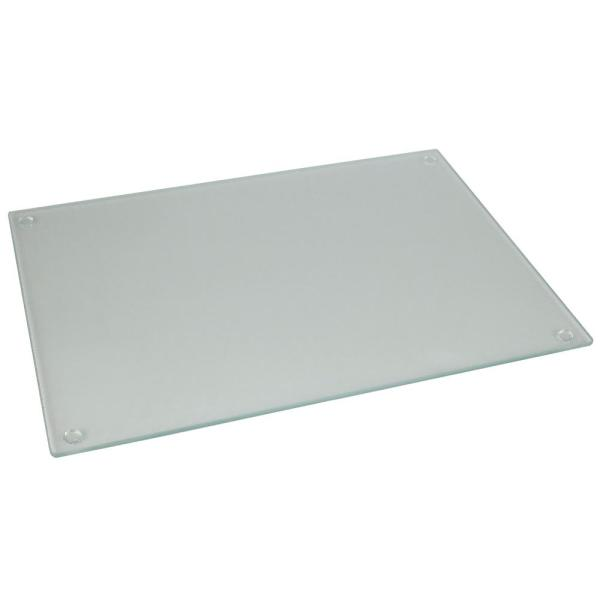 Home Basics Frosted Glass Cutting Board