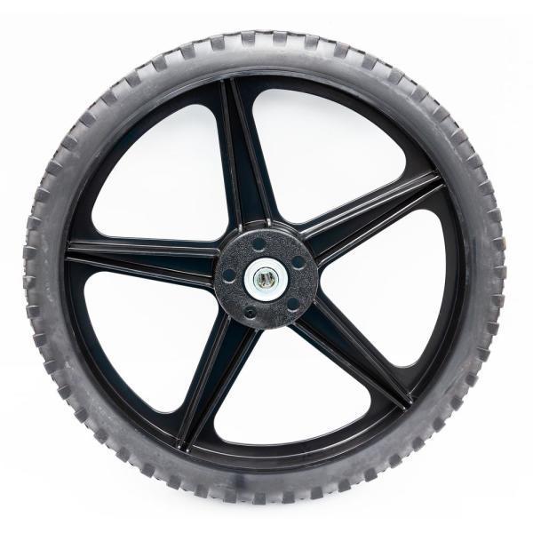 Replacement 13.75 in. Right Wheel with Clutch for Swisher Self-Propelled String Trimmer