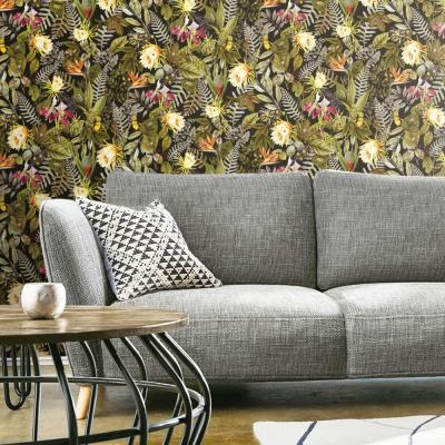 28.18 sq. ft. Tropical Flowers Peel and Stick Wallpaper