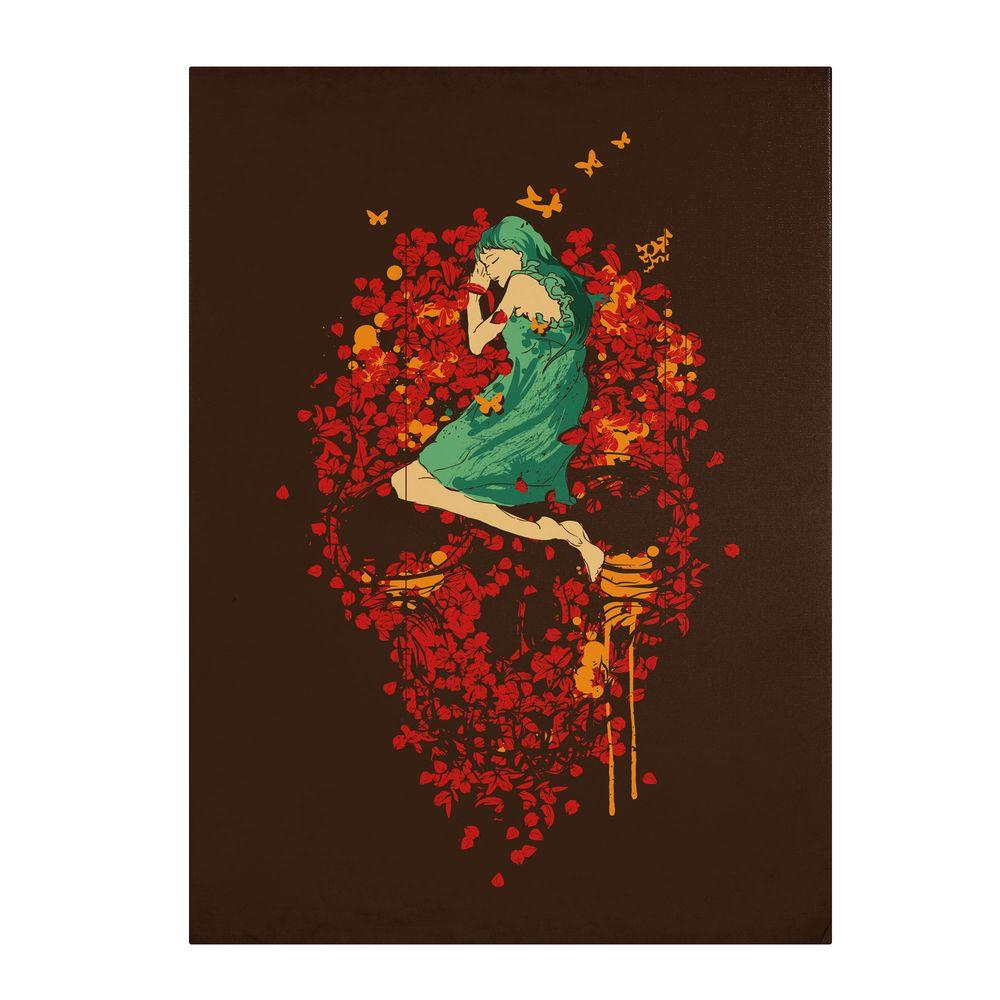 Trademark Fine Art 47 in. x 35 in. Roses are Red Canvas Art