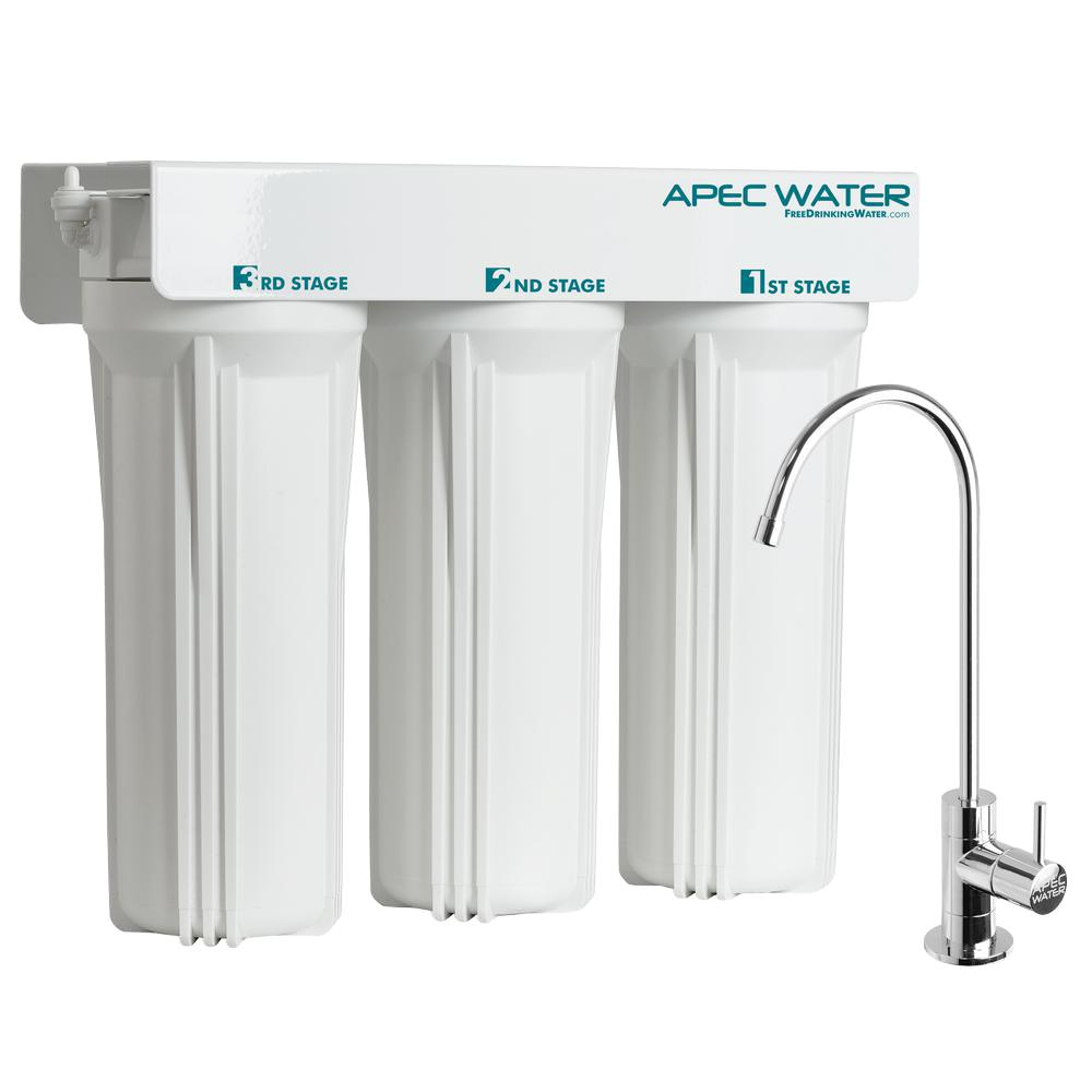 WFS Series Super Capacity Premium Quality 3 Stage Under Counter Water  Filtration System