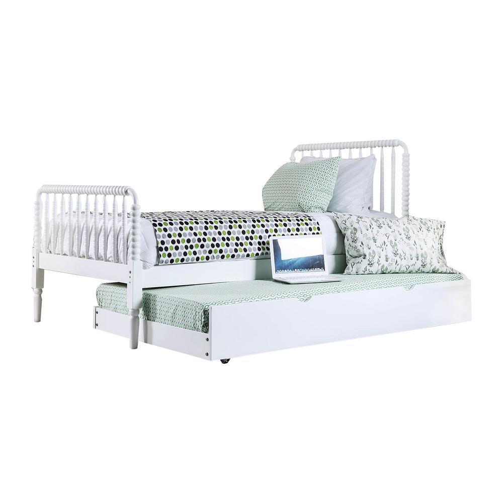 Jenny Full White Bed