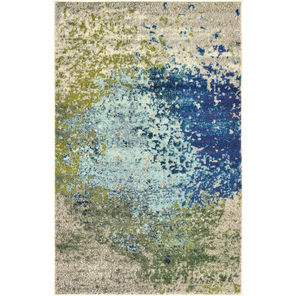 Estrella Vella Blue 3' 3 x 5' 3 Area Rug