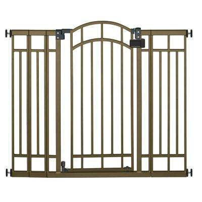 36 in. H Extra Tall Walk-Thru Multipurpose Bronze Gate