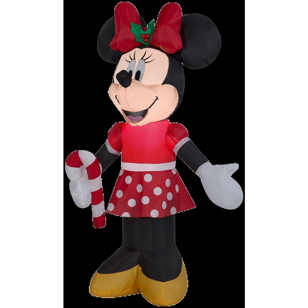 3 ft. W x 3.5 ft. H Inflatable Disney Minnie Holding