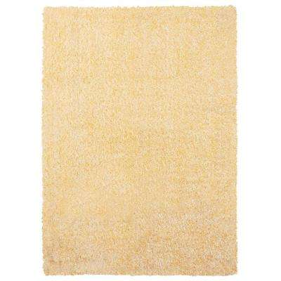 Eyelash Shag Ivory 8 ft. x 10 ft. Indoor Area Rug