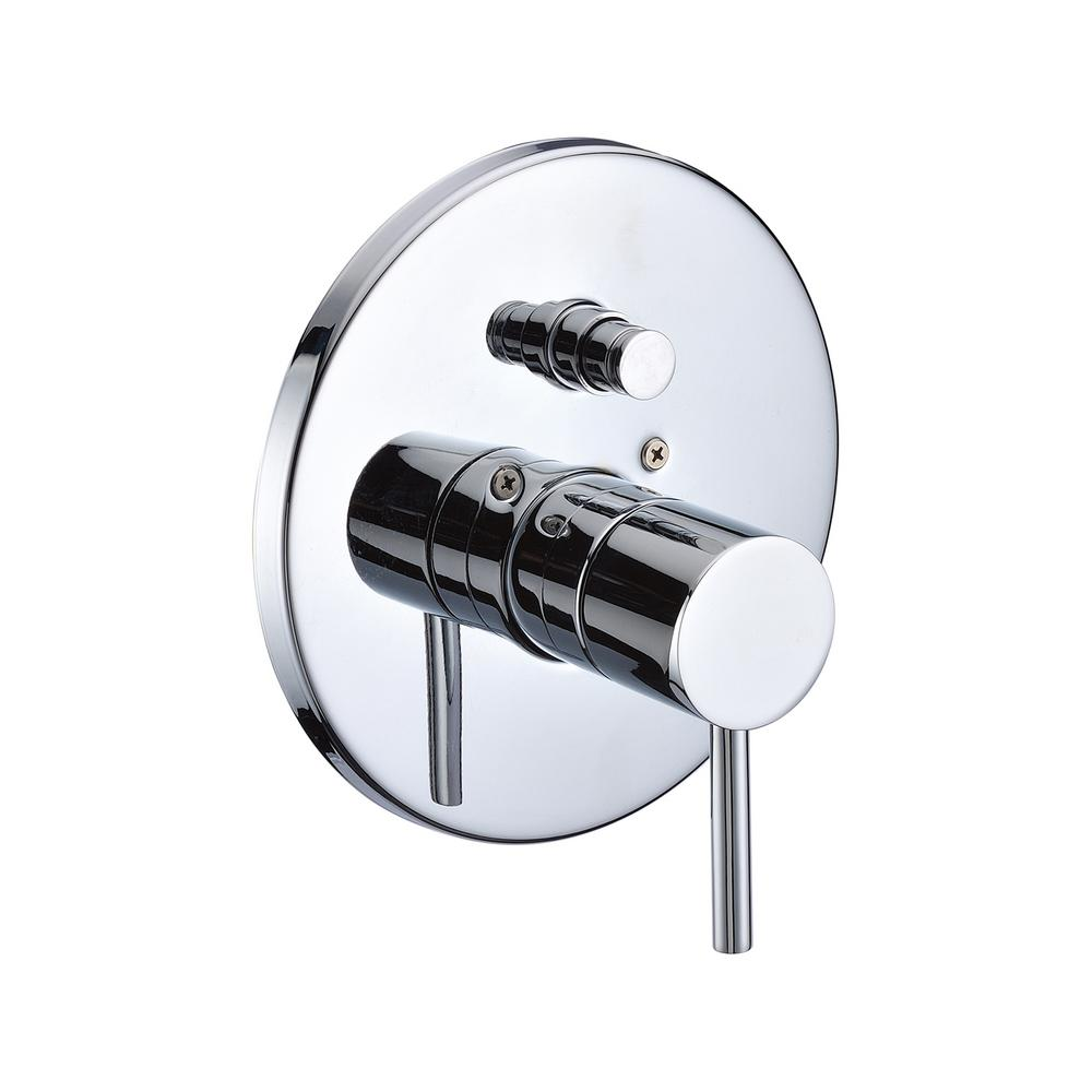 ALFI BRAND Single-Handle Shower Mixer with Sleek Modern Design in ...
