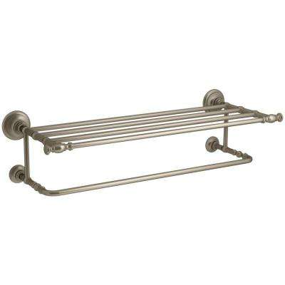 Artifacts Hotelier Towel Rack in Vibrant Brushed Bronze