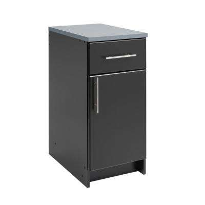Elite Black 16 in. Base Cabinet
