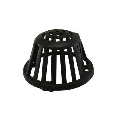 8-1/4 in. O.D. Cast Iron Dome for Roof Drains