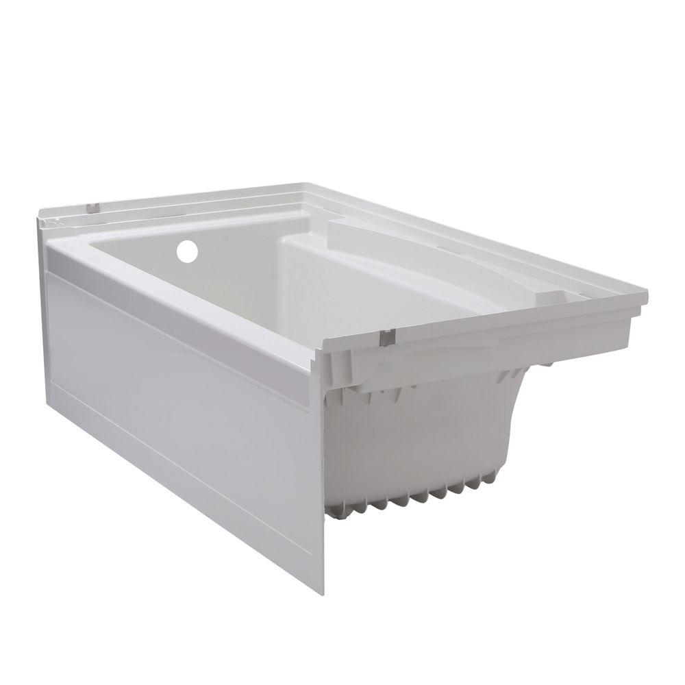 Soaking tub neotub standard walk in baths dreamy tubs for Deep soaking tub alcove