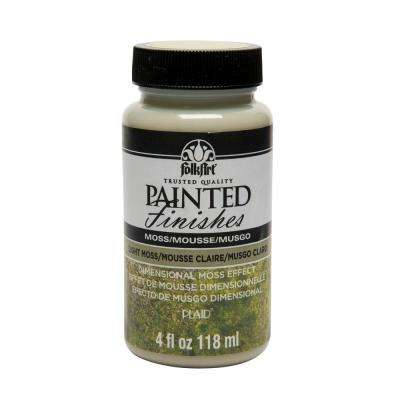 4 oz. Light Green Moss Painted Finish