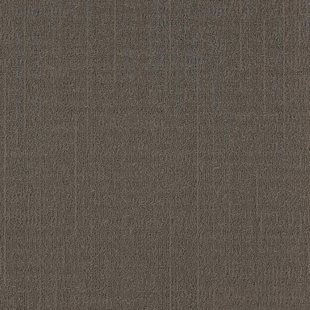 Reed Taupe Loop 19.68 in. x 19.68 in. Carpet Tiles (8