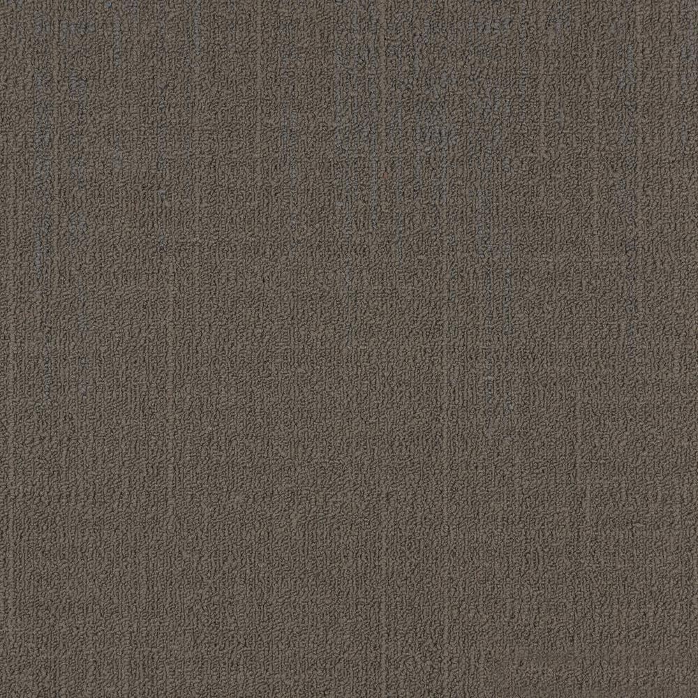 Reed Taupe Loop 19.68 in. x 19.68 in. Carpet Tiles (8 Tiles/Case)