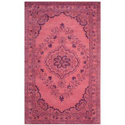Glamour Pink 5 ft. x 8 ft. Area Rug