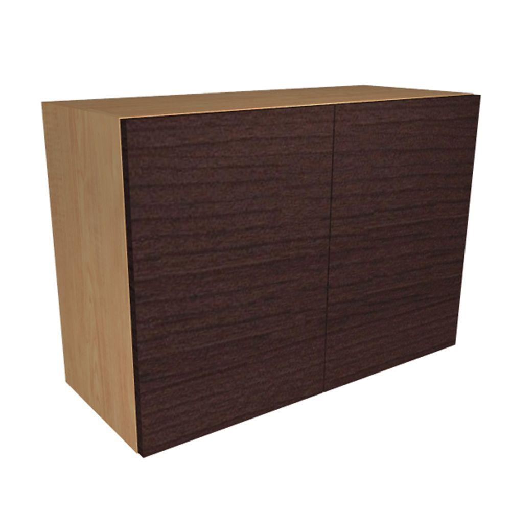 Home Decorators Collection Monaco Ready To Assemble 36 X 21 X 12 In Wall Cabinet With 2 Soft