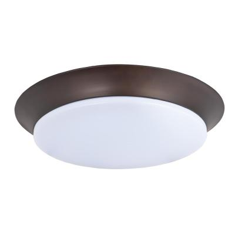 Maxim Lighting Profile EE LED 1-Light Bronze Flush Mount